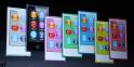 7 couleurs différentes pour la nouvelle gamme d'iPod nano