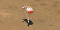 573 secondes après le saut : Felix Baumgartner atterri