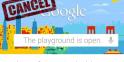 L'ouragan Sandy touche aussi... Google