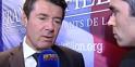 Dimanche 19h30 - Christian Estrosi annonce la victoire de François Fillon
