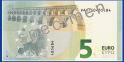 5 euros - série « Europe », verso