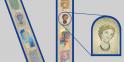 L'hologramme portrait Sur le nouveau billet, un portrait d'europe et une fenêtre apparaissent également.