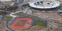 Stade olympique fin de chantier Londres 2012