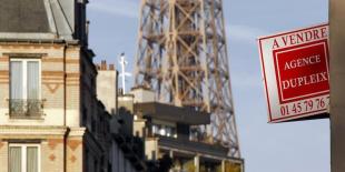 Baisse des prix de l'immobilier, notamment à Paris