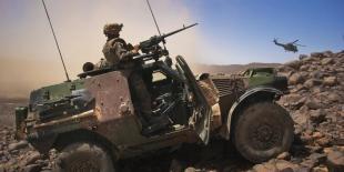 L'opération Serval au Mali montrent un taux d'usure important des matériels, lié au milieu hostile