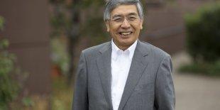 """""""Deux facteurs pourraient doper les perspectives (de croissance, ndlr) pour quelques prochaines années"""", a expliqué Haruhiko Kuroda."""