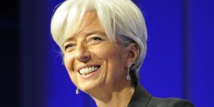 Christine Lagarde, directrice générale du FMI, invitée vedette de la Xème édition du Women's Forum à Deauville