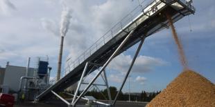 Centrale à biomasse E.On à Gardanne