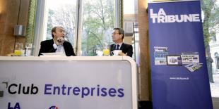 Jean-Christophe Fromantin, à droite, était l'invité vendredi du Club entreprise La Tribune - CCI Paris - Ile de France.