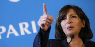 Anne Hidalgo a présenté son projet devant 172 chefs d'entreprise dans la Salle des Arcades de la Mairie de Paris. CAC 40, ETI et start ups.