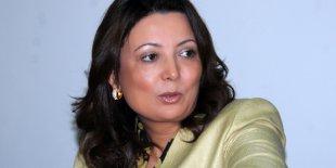 Ouided Bouchamaoui, présidente de l'Utica (Union tunisienne de l'industrie, du commerce et de l'artisanat)
