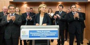 Sarkozy et Fillon soutiennent Pécresse