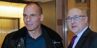 Ministre finances grec français