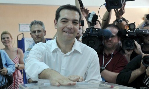 Alexis Tsipras, leader de Syriza, pourrait être le futur premier ministre grec.