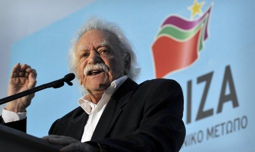 Manolis Glezos, député de la gauche radicale Syriza. Copyright AFP