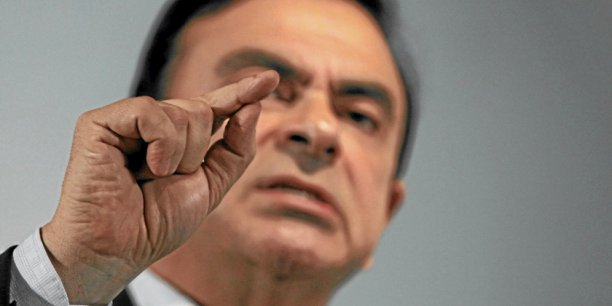 Carlos Ghosn, PDG de Renault et Nissan.  Copyright Reuters