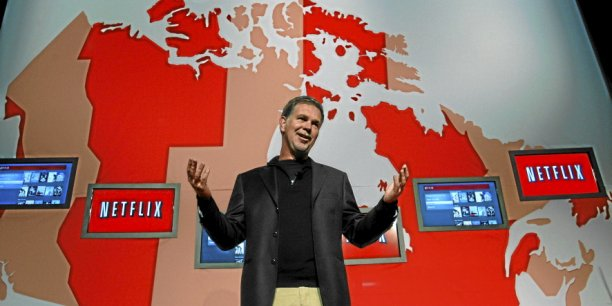 Reed Hastings CEO de Netflix / Reuters