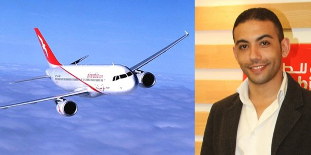 Soufiane Wissam, responsable France (commercial et marketing) de la compagnie Air Arabia Maroc ©dr
