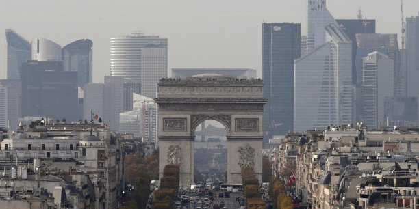 Paris, La Défense, Copyright Reuters