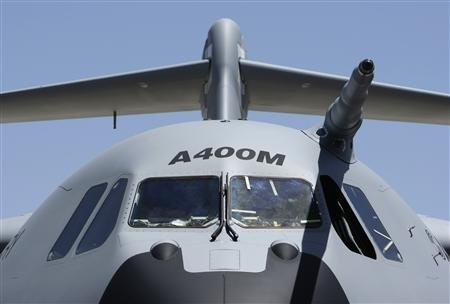 L'avion de transport militaire A400M, le symbole d'une Europe de la Défense Copyright Reuters
