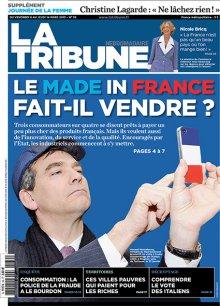 La couverture de La Tribune Hebdo