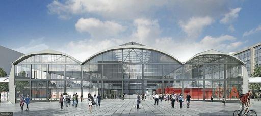 D'ici à 2016, les 30.000 m2 de la Halle Freyssinet, bâtiment classé monument historique, seront entièrement réhabilités par un des plus grands architectes français pour y accueillir 1.000 start-up. / DR