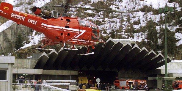 15 ans apr 232 s l incendie du mont blanc la s 233 curit 233 est au bout du tunnel