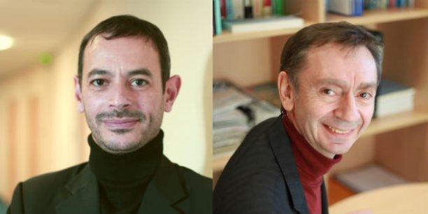 Marc Guyot et Radu Vranceanu, professeurs à l'Essec.