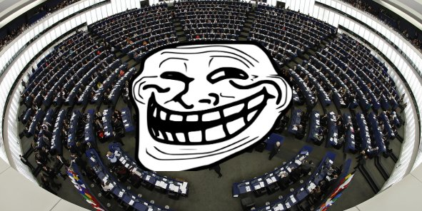 """Des fonctionnaires européens vont-ils devenir une """"patrouille de trolls"""" qui """"influencent la conversation"""" sur les réseaux sociaux ? (DR)"""