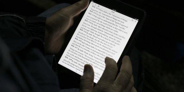 Dans l'Hexagone, le livre numérique ne représente que 5% du marché global de l'édition.