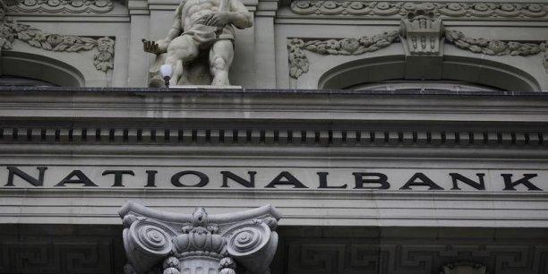 La banque centrale de Suisse a subi de lourdes pertes en 2015