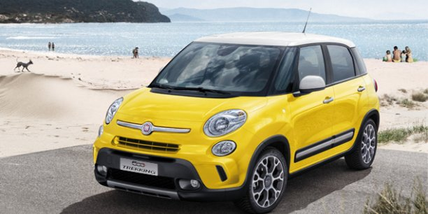 fiat 500l trekking un minispace vivre moins conduire. Black Bedroom Furniture Sets. Home Design Ideas
