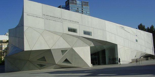 Le Tel-Aviv museum of Arts, exemple d'un buzz architectural qui n'a pas obtenu les faveurs du public.