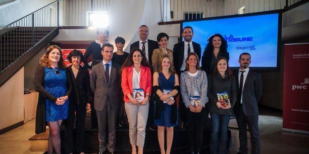 Les lauréates et parrains de l'édition 2013