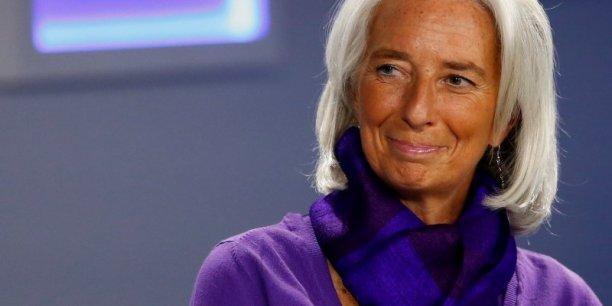 Christine Lagarde pourrait être la candidate d'Angela Merkel