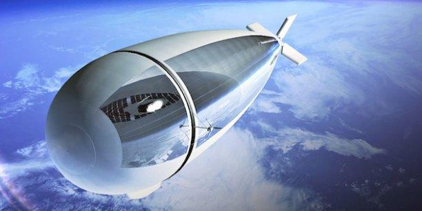 Le StratoBus, un dirigeable stratosphérique stationnaire développé par Thales Alenia Space, suscite déjà beaucoup d'intérêt