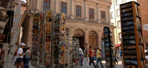 Place du Change, au coeur de la rue Saint-Jean. © Laurent Cérino