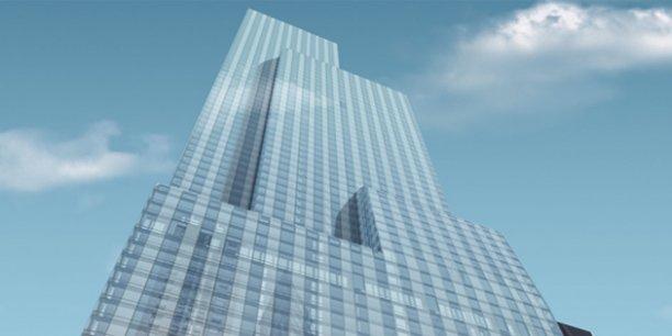 new york place forte de l 39 immobilier de luxe. Black Bedroom Furniture Sets. Home Design Ideas