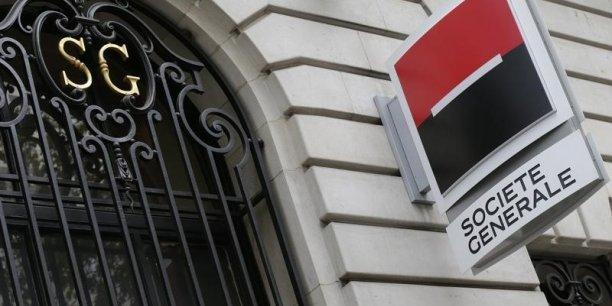 entreprises finance banques societe generale pourrait supprimer  de ses agences d ici a