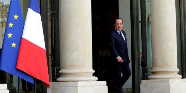 """""""Ce que nous voulons faire, c'est fédérer, mobiliser, démontrer la vitalité d'un pays comme le nôtre"""", a déclaré le chef de l'Etat devant un parterre de responsables associatifs et acteurs de l'économie sociale et solidaire, réunis à l'Elysée. /Reuters"""