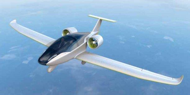 L'E-Fan, mis au point par Airbus Group, est doté de batteries lithium-ion-polymère pour une autonomie d'une heure. / DR
