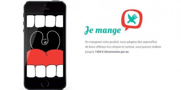 L'application Checkfood a été lancée mardi 24 juin pour l'anniversaire du Pacte de lutte contre le gaspillage alimentaire. /Agence 5eme Gauche.