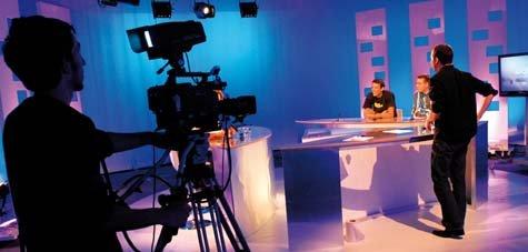 Plateau de tournage de TVSud