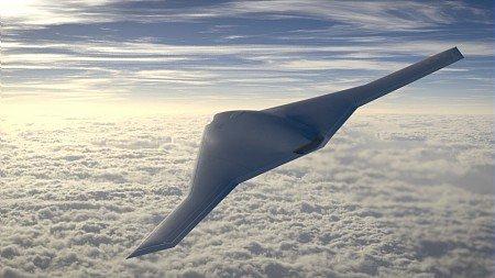 Images de synthèse du concept SCAF (Système de Combat Aérien Futur).