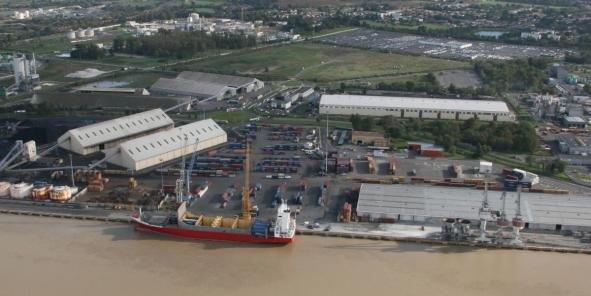 Le terminal de Bassens est encore au centre de l'activité portuaire