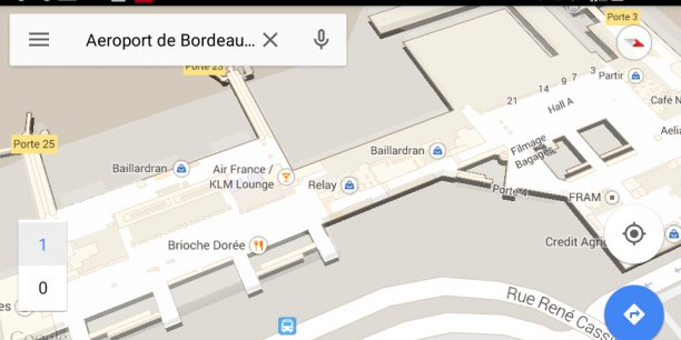 google maps wifi with Aeroport De Bordeaux Google Se Pose Starbucks Est En Approche on Vijzelstraat together with Caranabeach additionally Residence Maeva Aria Marina 480 in addition Huawei P8 Lite besides Steers Kimberley Cbd.