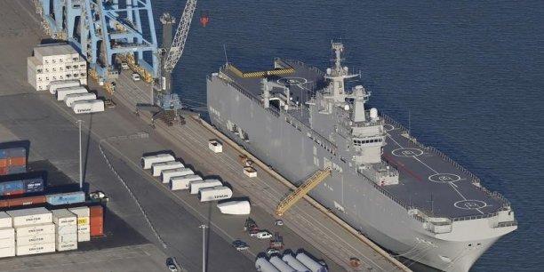 64% des Français sont favorables à la livraison des deux navires de guerre Mistral