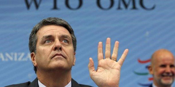 Le directeur général de l'Organisation mondiale du commerce, Roberto Azevêdo