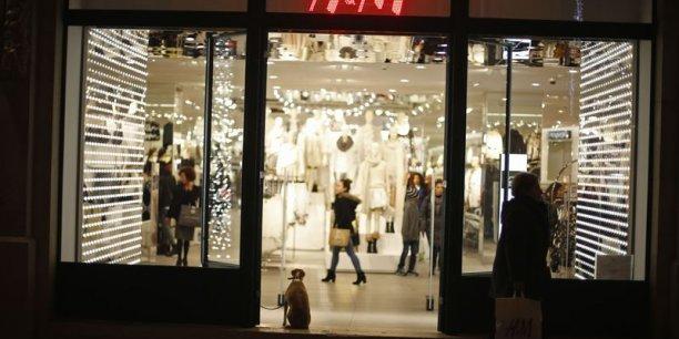entreprises finance services tribfecca h m et inditex zara resistent a un debut d hiver doux