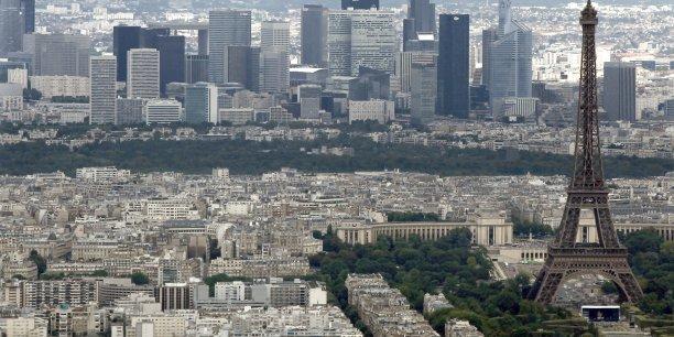 En Île-de-France, la baisse des prix de l'immobilier ancien s'atténue.
